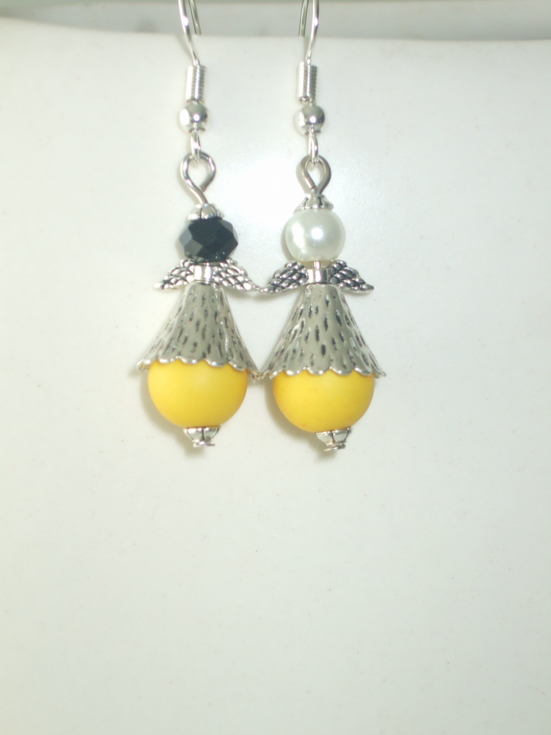 BO anges perles jaunes