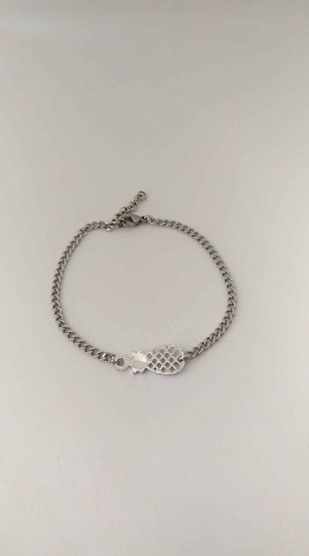 Bracelet mixte en acier inoxydabe