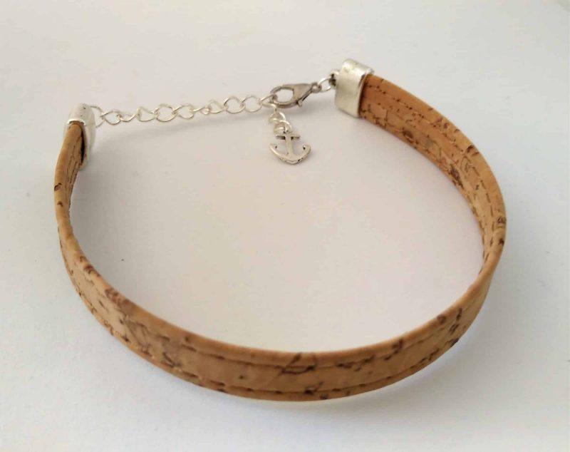 Bracelet mixte en liège