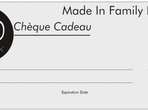 Chèque cadeau MiFD