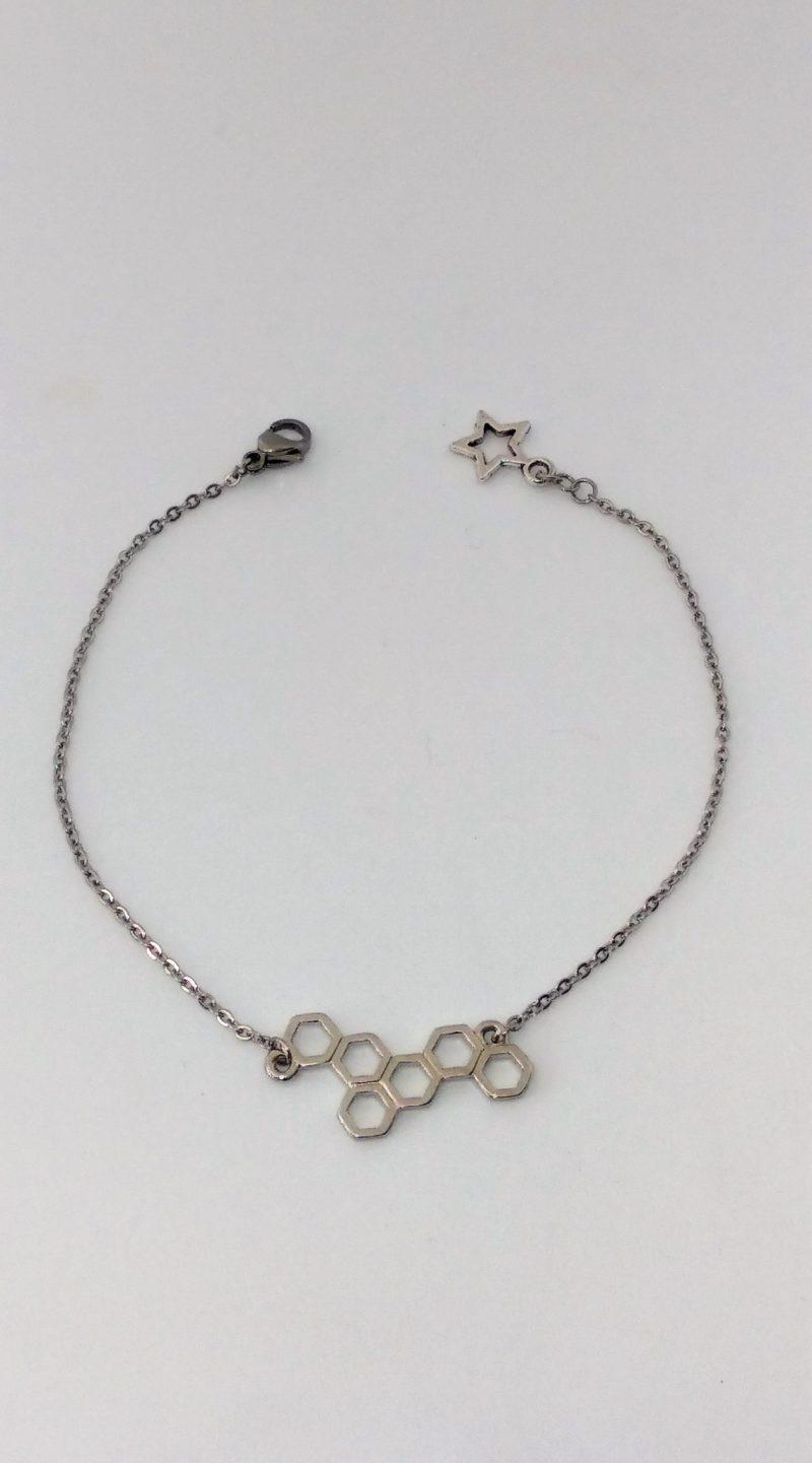 Bracelet nid d'abeilles